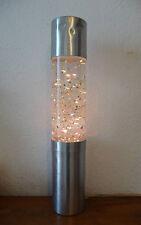 Superbe Lampe à paillettes cylindrique  Des années 70's     100% vintage **