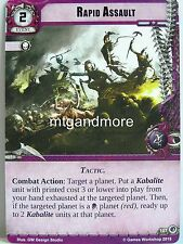 Warhammer 40000 Conquest LCG - Rapid Assault  #107 - Wrath of the Crusaders