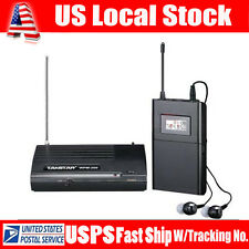 USA TAKSTAR WPM-200 Wireless Studio Recordering Monitor1 Transmitter 1 Receiver