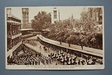 R&L Postcard: HM Queen Elizabeth II Coronation, Royal Coach to Westminster