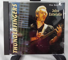 The Best of John Entwistle Thunderfingers CD Used VGC
