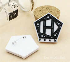 2pics Jang Geun Suk PINS BADGES GOODS KPOP NEW