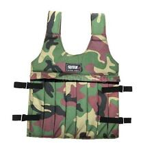 Camouflage Oxford Cloth Adjustable Weighted Vest for Training Durable NM 88NN