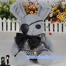 Japan Anime Black Butler Kuroshitsuji Plush Doll Dall Ciel rabbit Toy Gift New