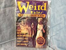 Vintage Weird Tales Pulp Summer 1973 Great Art Magazine SciFi Ray Bradbury