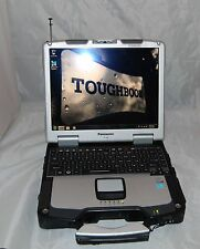 Panasonic Toughbook CF-30 MK3 Intel Core 2 Touch 4GB RAM Laptop windows 7 Pro