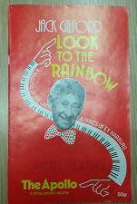 1989 Apollo Theatre: Jack Gilford in LOOK TO THE RAINBOW
