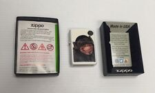 New In Box ZIPPO Wind Proof Lighter # 28661 White Monkey Grin  Made In USA