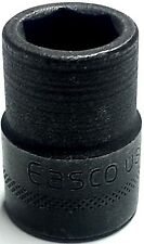 """EASCO 6pt 3/8"""" Standard Drive Impact Socket, 7/16"""" 52-1314  *Made In The USA*"""