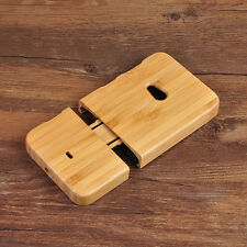 New Natural Wood Wooden Genuine Bamboo Phone Case Back Cover For Nokia Lumia 625