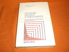 PSICOLOGIA GIURIDICA E RESPONSABILITA' , GIUFFRE' 1999