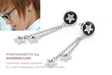 Korean Super Junior Lee teuk Many Stars Earring SJ Cute