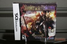 Knights in the Nightmare First Print (Nintendo DS, 2009) FACTORY SEALED! - RARE!