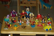28 Vintage Disney Character Figure Lot 80's 90's make great Cake Topper