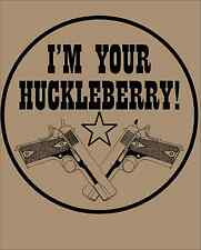 pro gun 2nd amendment t-shirt ar15 m4 3 percent i'm your huckleberry