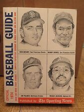 OFFICIAL BASEBALL GUIDE 1974 (The Sporting News)