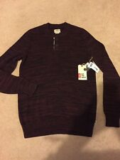 Vans Jumper Sweatshirt - Size Small Sweat Button Neck Vans BNWT
