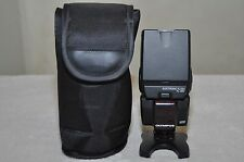 Olympus FL 36R Shoe Mount Flash for  Olympus Camera + Stand & Case ( Excellent )