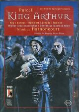 Henry Purcell King Arthur DVD NEW Opera Michael Maartens DTS sound
