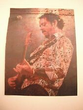 Steve Lukather Toto Guitarist 12x9 Coffee Table Book Photo Page