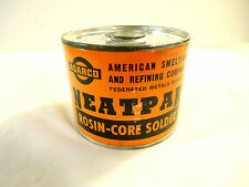 Vintage Rosin-Core Solder 60/40, 5lb Container, Used.