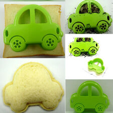 DIY Car Sandwich Mould Bread Rice Cake Cutter Cookie Pastry Device Kitchen Tool