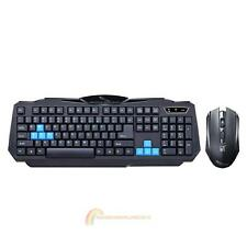 2.4G Wireless Gaming Keyboard+1600DPI Mouse Set Kit Combo for Desktop Laptop PC