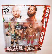 WWE Ryback & Jinder Mahal Battle Packs Mattel Basic 22 Action Figure Wrestling