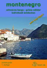Reiseführer-MONTENEGRO - Taschenbuch - Ausgabe 1/2016 - 132 Seiten -170  Bilder