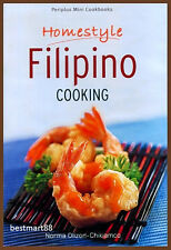 HOMESTYLE FILIPINO COOKING Philippines Adobo Menudo Gambas Cooking Paperback New