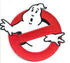 "Ghostbusters No Ghosts Logo Screen Accurate 4"" Embroid Patch-FREE S&H(GBPA-01)"