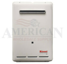 New Rinnai V53e External Propane Tankless Water Heater