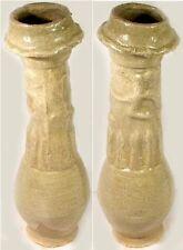 1000AD Medieval Song China Celadon Green Ceramic Funerary Offer Dragon Jar Vase