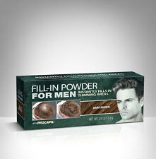 Irene Gari Cover Your Gray Fill-In Powder with Procapil for Men .24oz.Dk. Brown