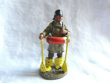 Figurine pompier Delprado - Fireman with lifebelt Berlin Germany 1900