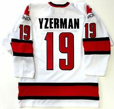 STEVE YZERMAN 2002 SALT LAKE OLYMPICS GOLD TEAM CANADA WHITE NIKE JERSEY MEDIUM