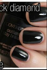 NEW! CoverGirl Outlast  Stay Brilliant Nail Polish Lacquer in BLACK DIAMOND