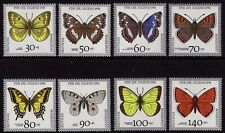Germany 1991 Youth Welfare - Butterflies SG 2361-2368 MNH