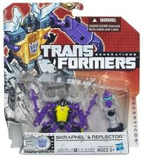 Transformers Hasbro 30th Anniversary Generations Legends Skrapnel & Reflector