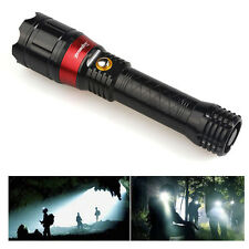 3 Modes 2000LM Red Laser Flashlight LED Tactical Torch Hunting Lazer Flashlights
