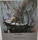 Lament for the Weary, Limited signed original poster by Rodney Matthews