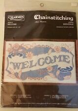 NIP CHARMIN Chainstitching Welcome Kit No 2978 NEW IN PACKAGE by JANILYNN 20x12