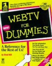 For Dummies: WebTV for Dummies by Brad Hill (1998, Paperback)