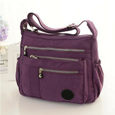 Women's Canvas Crossbody Shoulder Bag Tote Messenger Bags Handbag Multi-pocket .