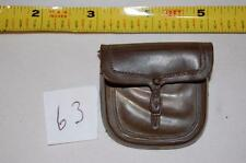 BROWN SADDLE BAG -SAM COBRA JOHNNY WEST GARRETT M11B