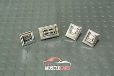 1982-87 Buick Regal Power Door Lock and Window CHROME Switch Set