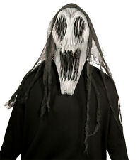 HALLOWEEN ADULT GAPING WRAITH   MONSTER HORROR MASK PROP