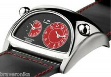 LORENZO POZZAN ITALY DUAL TIME ZONE STRATOSPHERE SWISS MOVEMENT MEN WATCH. NEW