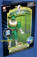 "Power Rangers ZEO Green Ranger IV New 8"" Factory Sealed"