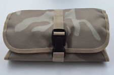 Acid Tactical® MOLLE Millitary Wash Kit Toiletry Pouch Bag Desert Light Tan Camo